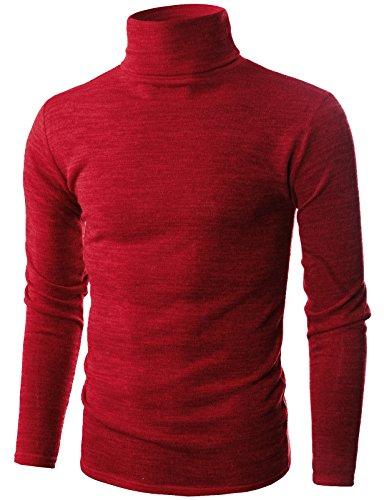 Ohoo Cotton Turtleneck Pullover Sweater