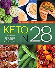EVERYTHING YOU NEED TO GO KETO.              Research shows that a ketogenic diet not only helps with weight loss, it can improve blood pressure, blood sugar, and cholesterol levels. Keto in 28 is the plan that tells you every...