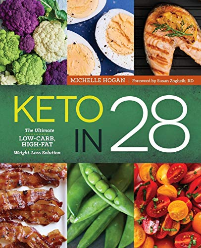 Keto in 28: The Ultimate Low-Carb, High-Fat Weight-Loss Solution (High Protein Low Carb Weekly Meal Plan)