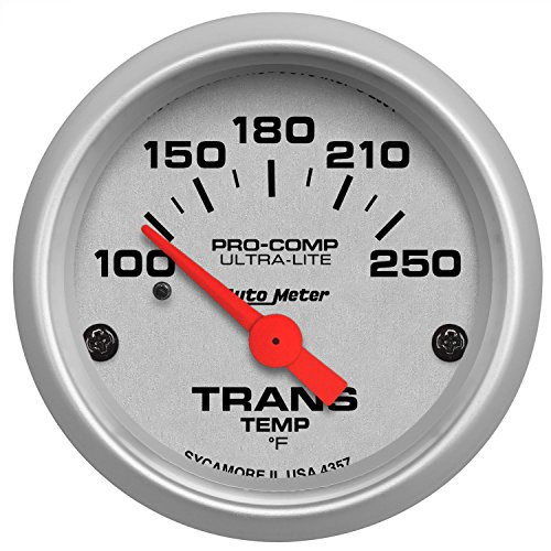 Auto Transmission - Auto Meter 4357 Ultra-Lite Electric Transmission Temperature Gauge