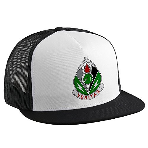 ExpressItBest Trucker Hat with U.S. Army 2nd Psych Ops Group (2nd POG), insignia by ExpressItBest