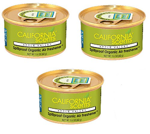 California Scents Air Freshener NEW SCENTS!! SET OF 3 (APPLE VALLEY)