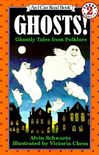 Ghosts!:  Ghostly Tales from Folklore  (An I Can Read Book, Level 2) -