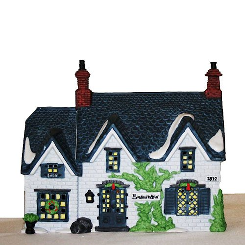 Dept 56 Oliver Twist Lighted Brownlow House (#5553-0, Heritage Village Collection, Dickens Village Series), Retired Collectible (5553 Series)
