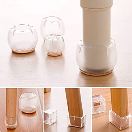 Furniture Foot Of Desk And Chair Covers Silent Protection Cushion Desk Foot Cushion Thickens Wear-resisting And Skidproof Furniture Cups