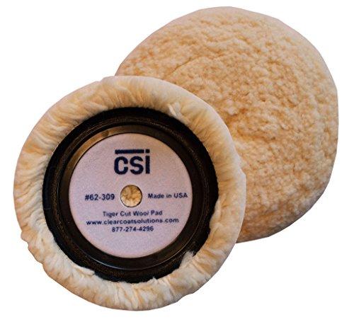 Tiger Cut Wool Pad - CSi 62-309 - Cut Wool Pad