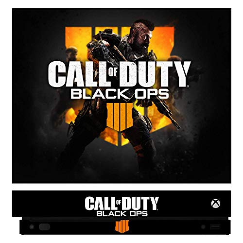 Call of Duty: Black Ops 4 BLOPS4 BOP4 Game Skin for Xbox One X Console 100% Satisfaction Guarantee! (Call Of Duty Black Ops 2 Cover)