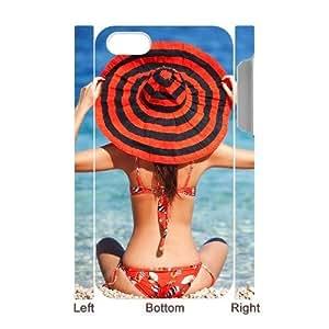 ALICASE Diy 3D Protection Hard Case Bikini For Iphone 5C [Pattern-1]