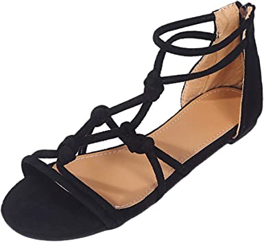 Sandals Zip Ankle Shoes Ladies