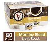 Buy Coffee Machine Online Morning Blend for K-Cup Keurig 2.0 Brewers, 80 Count, Victor Allen's Coffee Light Roast Single Serve Coffee Pods