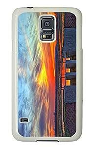 Customized Samsung Galaxy S5 White Edge PC Personalized Wetlands Cover doudou's case wangjiang maoyi