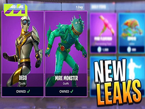 Clip: Skins, Pickaxes and Free Back Bling]()