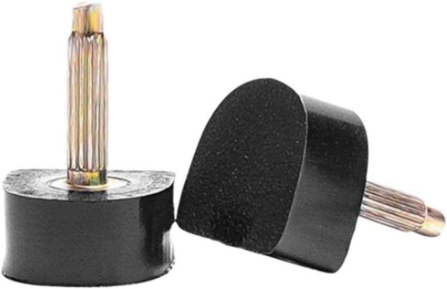 Baoblaze Pointes Bronage de Haut Talon de Chaussures en Plastique Casquettes de Rechange Chevilles