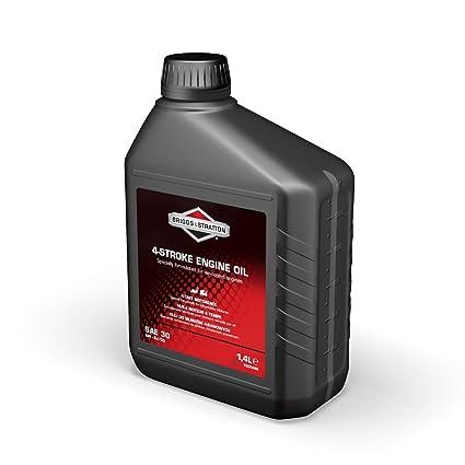 Briggs and Stratton 100006E - Aceite de motor de 4 tiempos (1,4 L ...