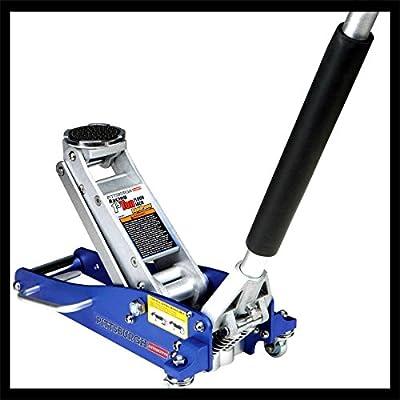 Aluminum Compact Size Professional Speed Racing Car Auto Floor Jack Low Profile Rapid Pump Lift 3000 Lb - House Deals