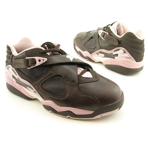 NIKE Air Jordan 8 Retro Low Brown Shoes Womens Size 9 by NIKE