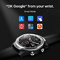 Ticwatch Pro, Premium Smartwatch with Layered Display for Long Battery Life, NFC Payment and GPS Build-in, Wear OS by Google, Sleep Tracking, ...