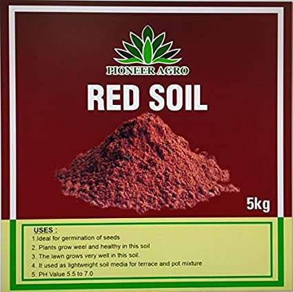 red soil crops in india
