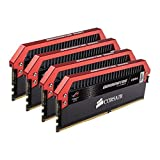 CORSAIR Dominator Platinum 16GB (4x4GB) DDR4 3200MHz C16 Desktop Memory