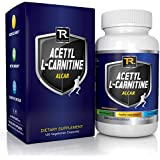 #1 Acetyl L-Carnitine - ALCAR - Guaranteed Potency ★ Boost Energy ★ Improve Memory ★ And Increase Perception | 500 Mg | 120 Vegetarian Capsules - 100% Money Back Guarantee By TR Supplements ● Love It Or Your Money Back