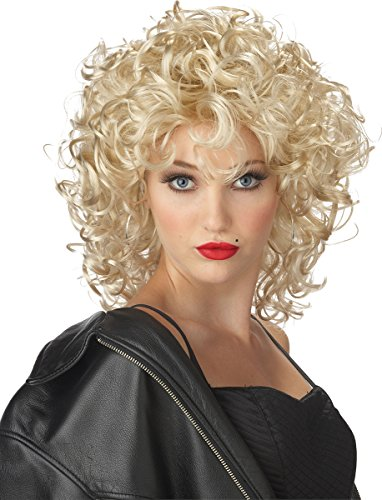 California Costumes Women's The Bad Girl Wig, Blonde One Size ()