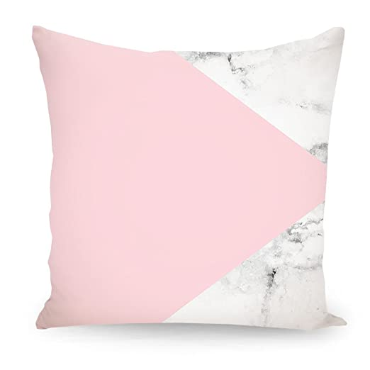 artboxONE Cojín Diseño marble Color Rosa Impreso en ambos ...