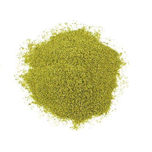 Poblano Chile Powder, 1.7 Oz Glass Jar (Green Chili Powder)