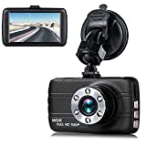 Cheap Dash Cam,EVASA 150° Wide Angle Full HD 1080P with G-Sensor,Night Vision,WDR,Loop Recording,3.0″ LCD Dashboard Camera Recorder