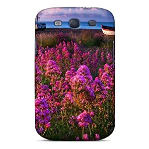 Awesome Design Boats On Shore Hard Case Cover For Galaxy S3