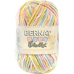 Bernat Baby Blanket Big Ball Yarn, Pitter Patter, Single Ball