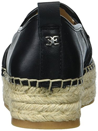 Sam Edelman Damen Carrin Espadrilles Black Leather