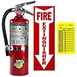5 Lb. Type ABC Dry Chemical Fire Extinguisher