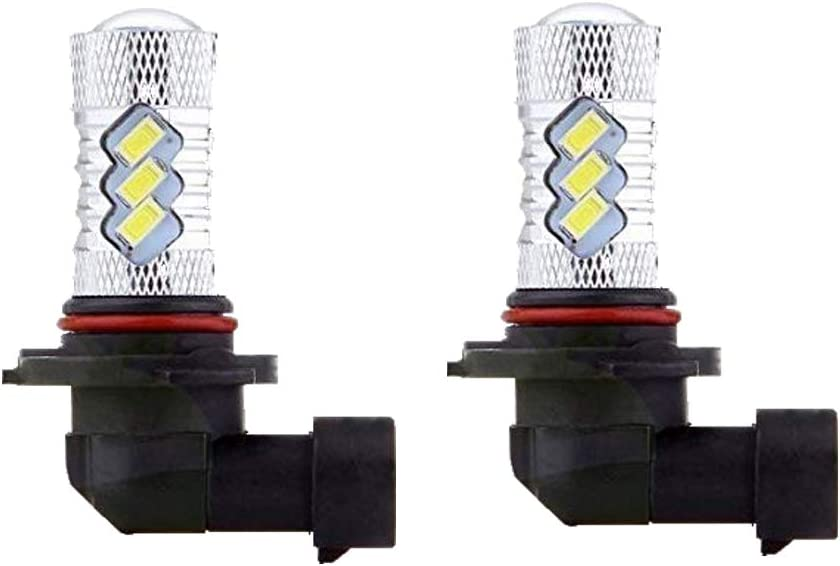 2x Headlights For Can-Am Maverick Max 1000R 80W For CREE LED 6000K White Bulbs