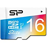 Silicon Power 16GB up to 85MB/s MicroSDHC UHS-1 Class10, Elite Flash Memory Card with Adaptor (SP016GBSTHBU1V20SP)