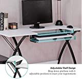 GLACER Sewing Table, Sewing Desk, Craft