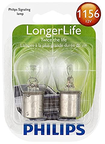 Philips 1156 LongerLife Miniature Bulb, 2 Pack - Rampage Air