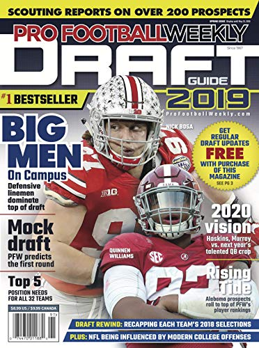 - Pro Football Weekly Draft Guide 2019