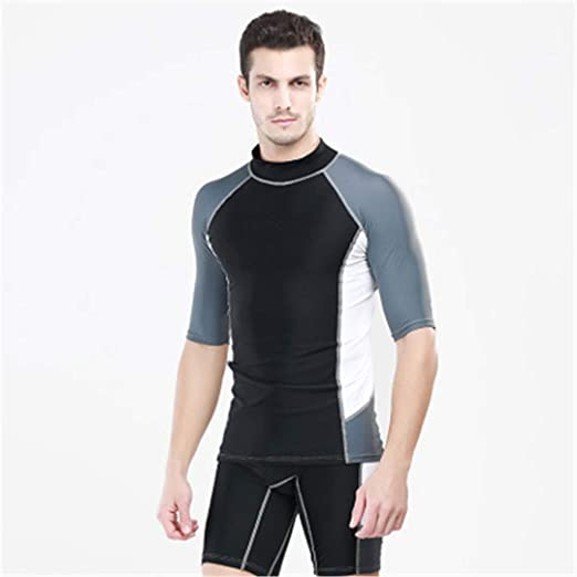 Amazon.com: Men Wetsuits Neoprene Surfing Windsurf Swimsuit ...