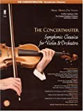 The Concertmaster - Symphonic Classics for Violin and Orchestra: Music Minus One Violin Deluxe 2-CD Set (Music Minus One - the Concertmaster Symphonic Classics)