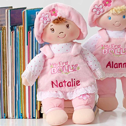 Doll Small Plush (Personalized My First Dolly - 13 inch (Brunette))