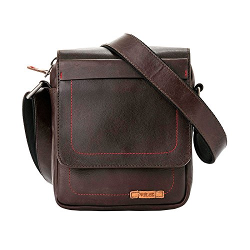 Amazon.com | VÉLEZ 20240 Men Genuine Leather Crossbody Bag | Bandolera De Cuero Honey | Backpacks