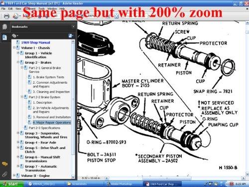 1969 ford car shop manual (vol i-v): ford motor company, david e  leblanc:  9780967321165: amazon com: books