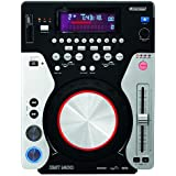 Lettore CDJ Cd Mp3 Porta USB Slot Per SD Card OMNITRONIC XMT-1400