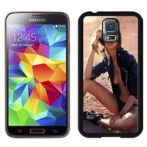 Beautiful Designed Antiskid Cover Case For Samsung Galaxy S5 I9600 G900a G900v G900p G900t G900w Phone Case With Adriana Lima Black Jacket_Black Phone Case
