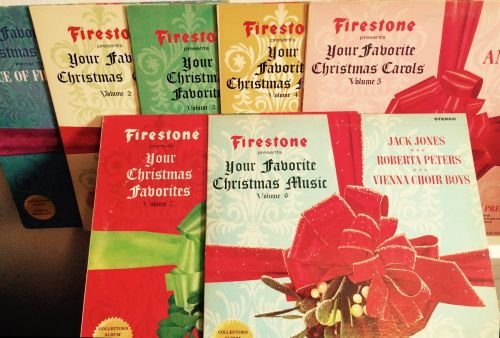 firestone presents your favorite christmas music set volume 1 7 lp 33 1