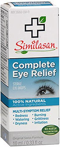 (Complete Eye Relief Similasan 10 ml (0.33 fl oz) Liquid - Buy Packs and SAVE (Pack of 3) )