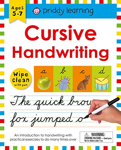 Wipe Clean Workbook: Cursive Handwriting (Wipe Clean Learning Books) (Handwriting Loops)