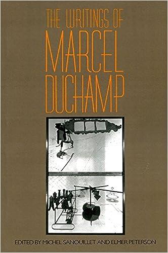 the writings of marcel duchamp da capo paperback