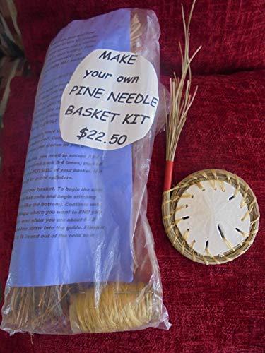 (Pine Needle Sand Dollar BASKET MAKING KIT)