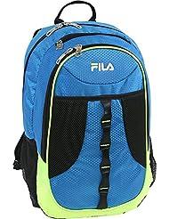 Fila Radius School Computer Tablet Bk Bag Bkpk, Blue/Neon Lime